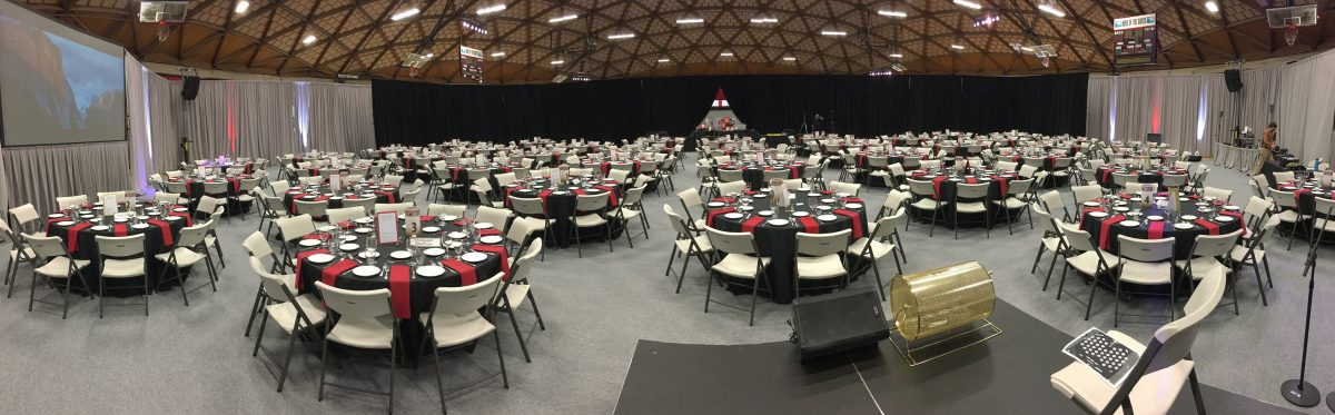 Mt. Hood Community College- Reach for the Stars April 15th, 2017 Annual Dinner & Auction: Full Room Set-up