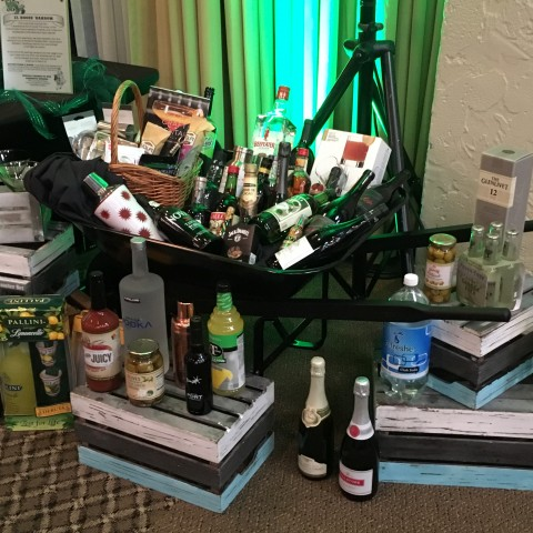 Must Love Dogs - An Emerald Affair March 11th, 2017 Annual Dinner & Auction: Booze Barrow Live Auction Item