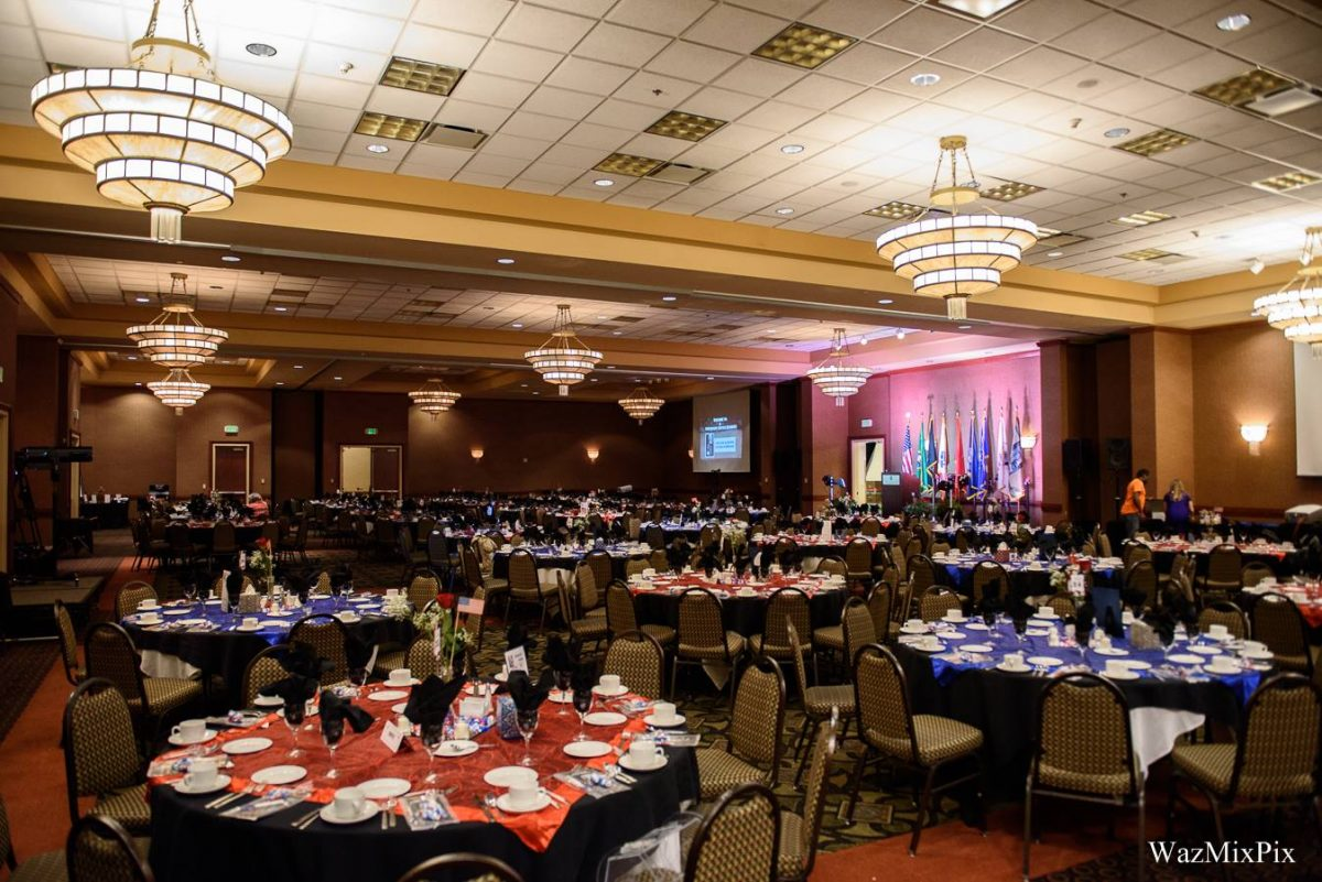 Northwest Battle Buddies Annual Dinner & Auction May 6th, 2017: Room Decor