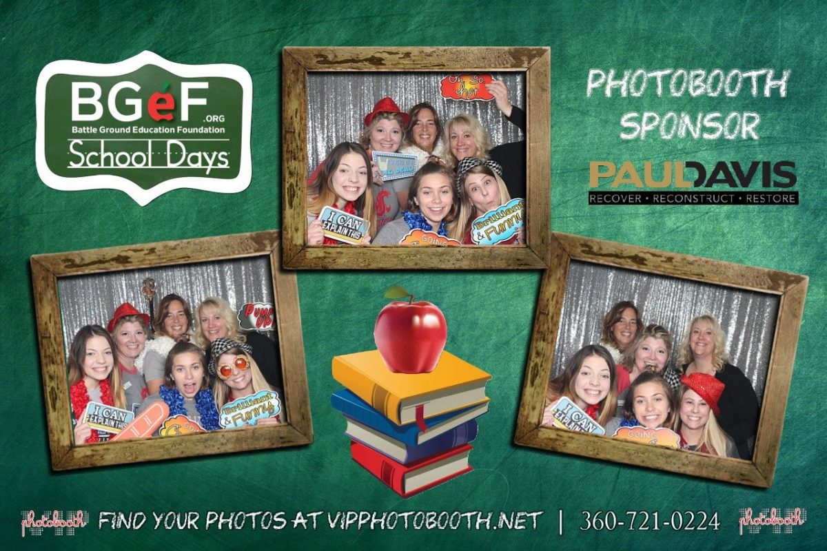 BG Education Foundation's School Days 2016 Auction: Photo Booth Fun with Simple Pleasures Events Team
