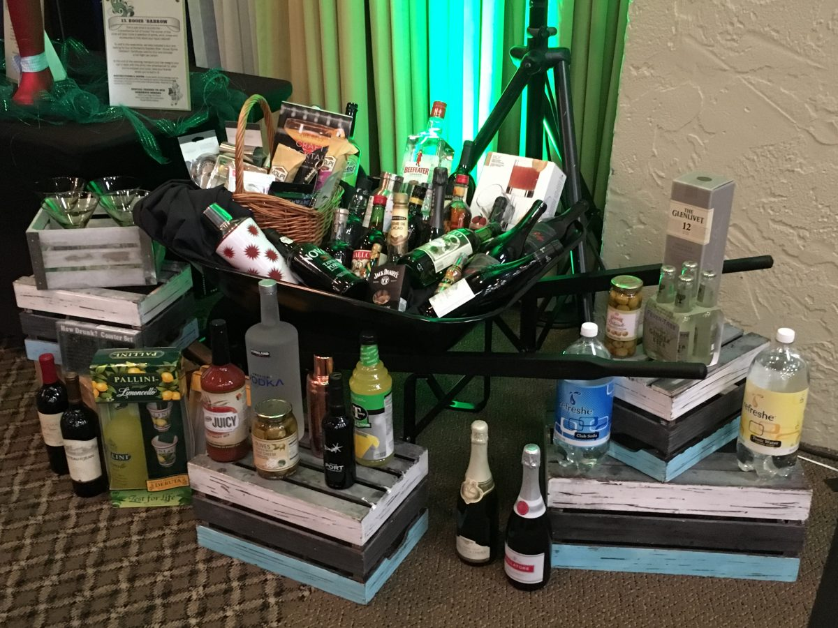 Must Love Dogs – An Emerald Affair March 11th, 2017 Annual Dinner & Auction: Booze Barrow Live Auction Item