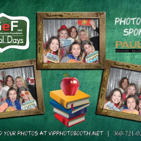 BG Education Foundation's School Days 2017 Auction: Photo Booth Fun with Simple Pleasures Events Team